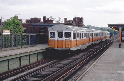 Orange Line - Green St.