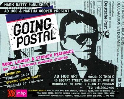 Going Postal flyer